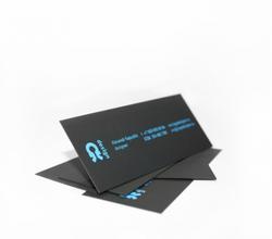 Логотип на визитной карточке